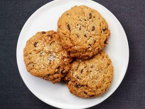 Cookie met chocolade